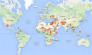 World Conflict Map by 5 Real Time Maps And Simulations To Help You Understand