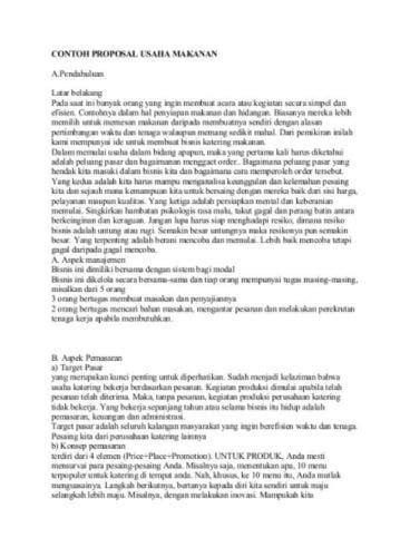 cara membuat proposal halal bihalal 25 contoh proposal usaha bisnis yang baik dan benar