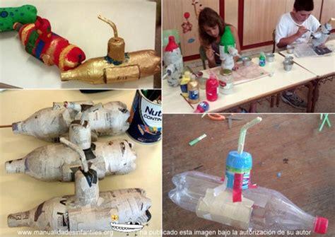 hacer submarino con material reciclado submarino con botellas de pl 225 stico para ni 241 os