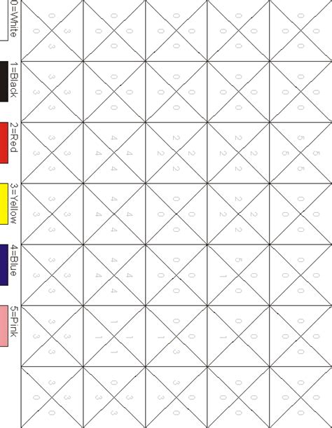 printable hidden picture color by number 9 best images of insect color by number worksheets hidden