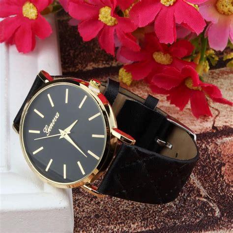 Jam Tangan Geneva Eureka Black geneva jam tangan analog kasual black jakartanotebook