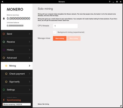 background xmr miner how to mine monero solo with its gui wallet or pooled