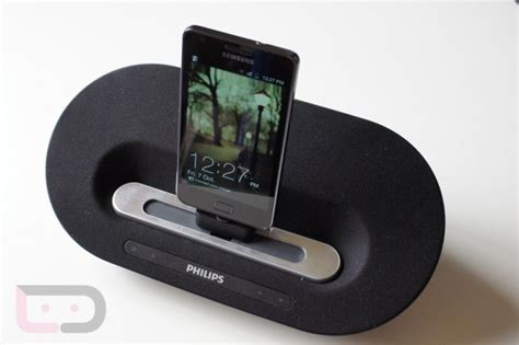 speakers for android phone accessory review philips fidelio as351 speaker dock for android devices droid