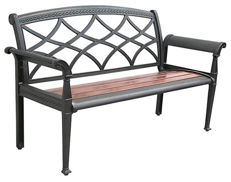 aluminum outdoor bench patio furniture bench cast aluminum heirloom
