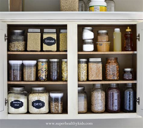 Pantry Food Recipes by Kitchen Cabinet Makeover Getting Rid Of The Packaging