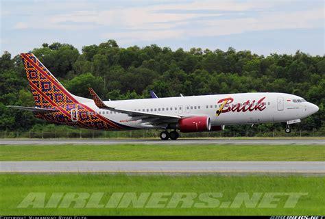 batik air boeing 737 boeing 737 8gp batik air aviation photo 4026859
