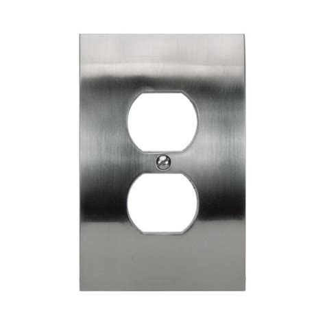 brushed nickel light switch covers atlas homewares modern switch plate covers wall plate in