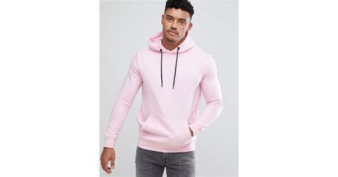Sale Hoodie Jacket By Bershka lyst bershka hoodie in pink in pink for