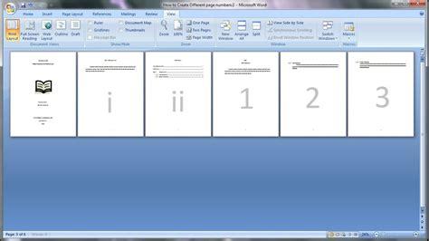 belajar microsoft word   membuat page number