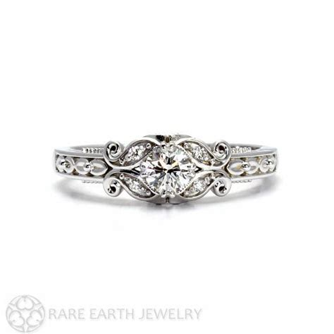 vintage style wedding ring with filigree diamond engagement ring vintage style ring with filigree