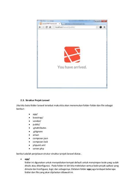 tutorial untuk laravel tutorial dasar laravel
