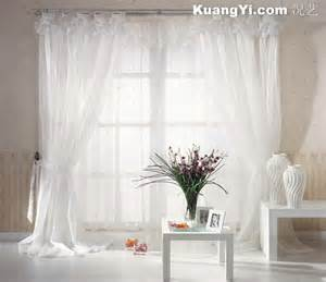 5 kins of white bedroom curtains