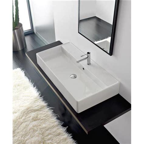 lavabo bagno da appoggio prezzi teorema lavabo da appoggio o sospeso bagno italiano