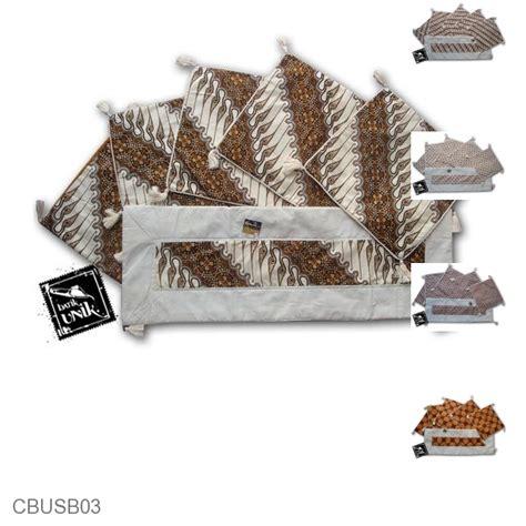 Sarung Bantal Set Unik sarung bantal kursi batik motif batik klasik set sarung
