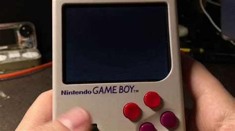 gameboy sd card mod game boy zero with custom sd card reader game cartridge