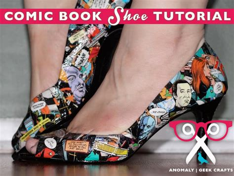 decoupage shoes tutorial anomaly podcast geek crafting tutorial how to decoupage