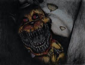 Nightmare fredbear by tj otter on deviantart