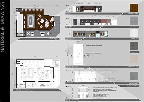 cafe interior design ppt interior design project 2 restaurant design on behance