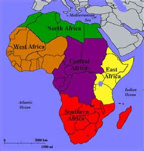 5 regions of africa map geography and imperialism we re talk about africa