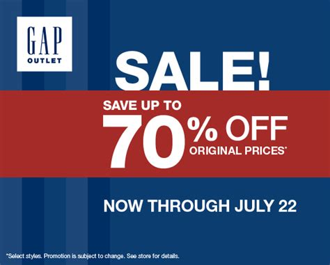 printable coupons gap outlet usa gap outlet coupons and banana republic factory store
