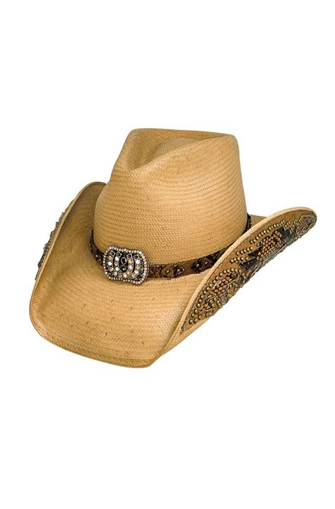womens straw cowboy hat 7 days to ship
