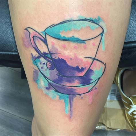 tea cup tattoo tea cup best ideas gallery