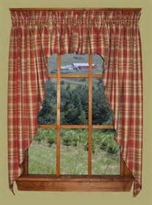 Country Plaid Kitchen Curtains 1000 Images About Country Curtains On Country Curtains Country Kitchen Curtains