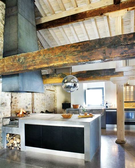 Kitchen With Grill Awesome Kitchen Designs With Indoor Built In Grill