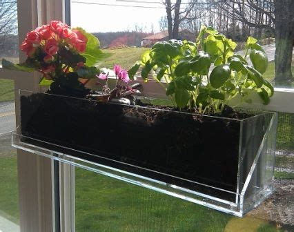 Suction Cup Planter by Living Ledge Taking Gardening To A New Level