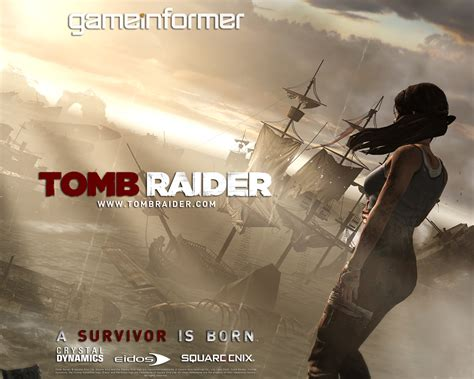 official tomb raider wallpapers game informer