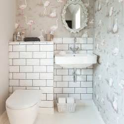 decorative bathroom with wallpaper bathroom decorating