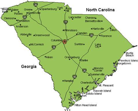 carolina coastal towns map map of south carolina coastal towns pictures to pin on