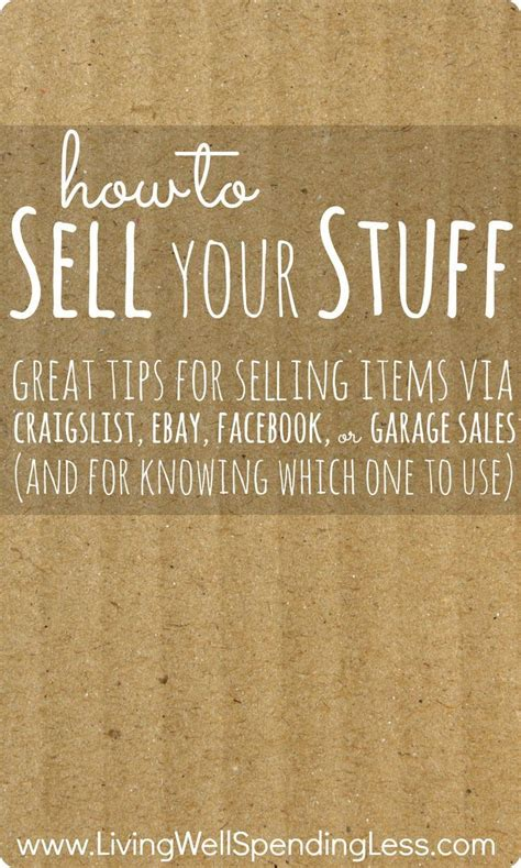 How To Post A Garage Sale On Craigslist by 25 Best Ideas About Garage Sale On
