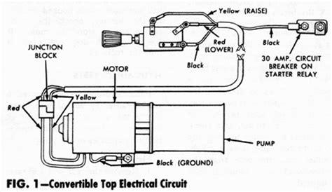 2006 ford mustang convertible top diagrams wiring diagram