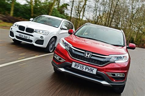 used bmw x3 vs new honda cr v used vs new car test