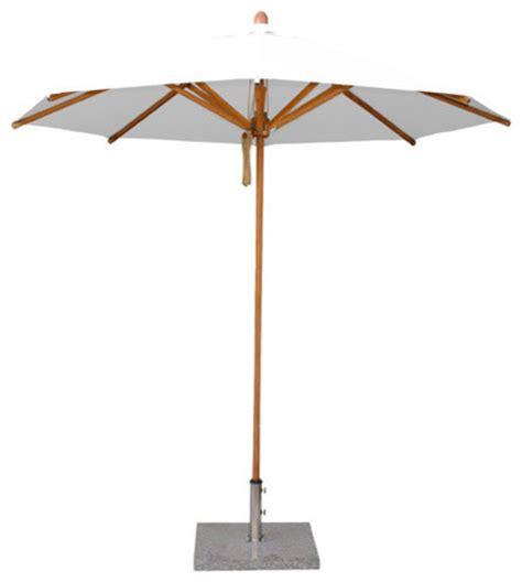 Patio Umbrella Pole Diameter 8 5 Bamboo Market Umbrella S 1 5 Quot Pole Diameter Outdoor Umbrellas By Bambrella