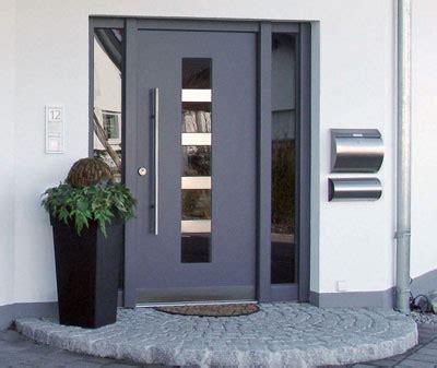 haustüren aus aluminium hausturen holz mit briefkasten m 246 bel inspiration und