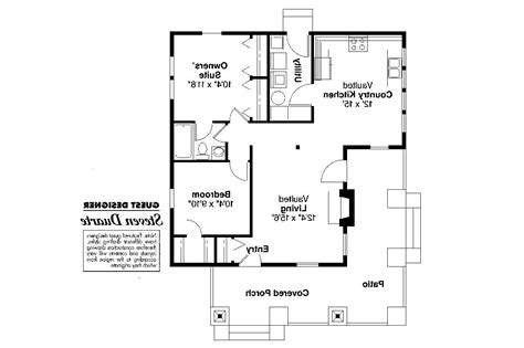 Craftsman Home Floor Plans by Craftsman House Plans Pinewald 41 014 Associated Designs