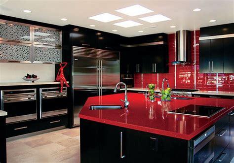 meubles noir pour une cuisine deco maison moderne
