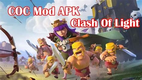download game coc mod unlimited money clash of light coc apk unlimited money mod apk download
