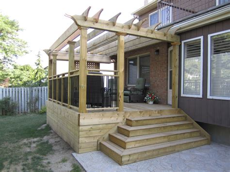 Small Deck Plans With Pergola