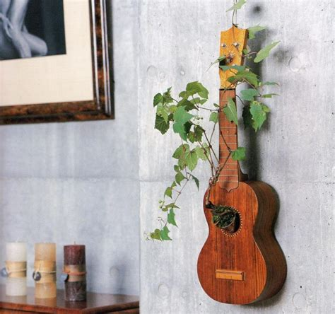guitar home decor how to repurpose guitars in home decor