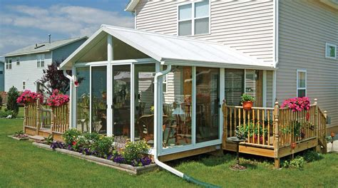 Backyard Sunroom Sunroom Kit Easyroom Diy Sunrooms Patio Enclosures
