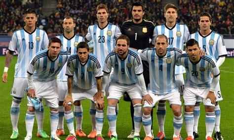 argentina equipos mundial de f 250 tbol de brasil 2014