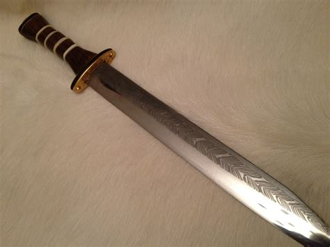does pattern welding make anglo saxon swords stronger thegns of mercia l 230 watan staffs hoard seax 2