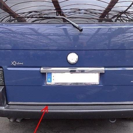 volkswagen caravelle trunk vw volkswagen transporter caravelle t4 90 03 chrome trim