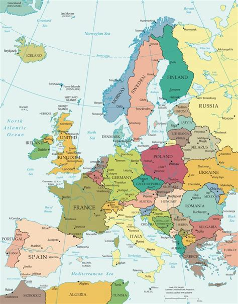 best western europe western europe map political windsurfaddicts