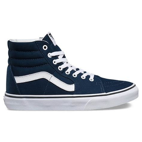 Vans Sk8 Navy vans sk8 hi navy shoe billion creation streetwear