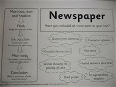 Writing Newspaper Reports Year 6 by 1000 Images About Newspapers Reports On Newspaper Information Report
