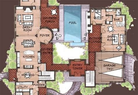 mexican hacienda floor plans mexican hacienda floor plans hacienda spanish style home floor plans on hacienda homes with